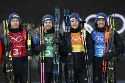 Biathlon - Swede Nelin matches golden partner Oeberg