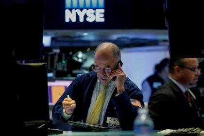 Wall Street en hausse grâce à la Fed et aux high techs