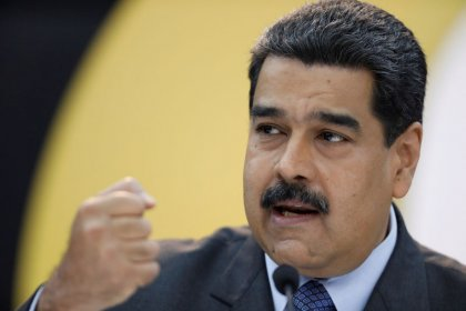 Venezuela's Maduro says to recover 70 percent of oil output decline