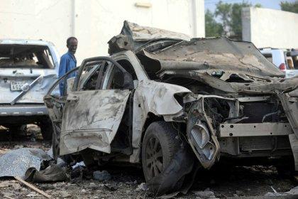 Regierungskreise - Totenzahl steigt nach Anschlag in Somalia auf 45