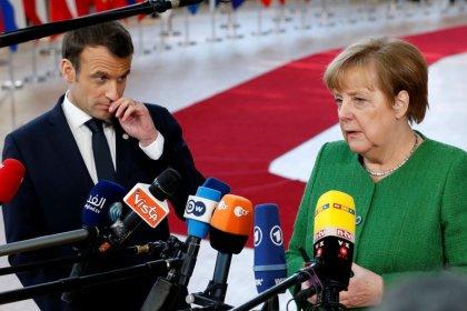 """Merkel und Macron fordern von Putin """"maximalen Druck"""" auf Assad"""