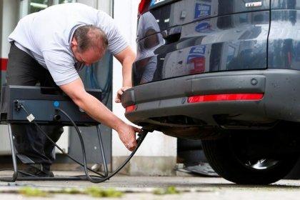 Regierung arbeitet vor Diesel-Urteil an Fahrverbotsregelung