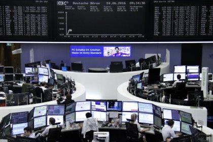 European industrial stocks weather Trump tariff storm