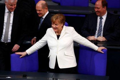 Merkel - Protektionismus kann nicht Antwort auf US-Schutzzölle sein
