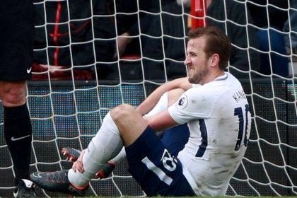Tottenham diz que Kane voltará aos treinos no próximo mês
