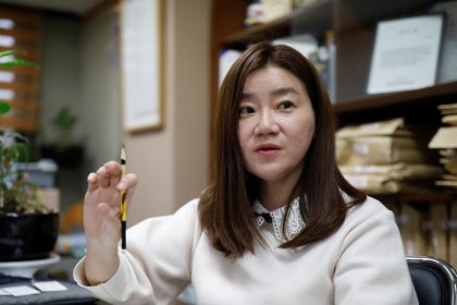 Once harassed herself, South Korean lawyer fights for #MeToo victims