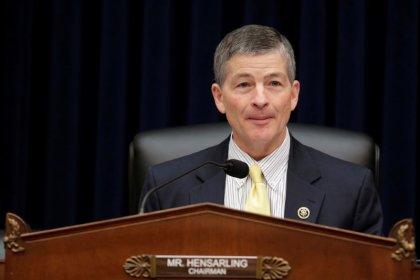 House will not pass current Senate bill easing bank rules: Hensarling