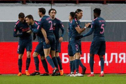 Atlético de Madri avança com força para quartas de final da Liga Europa