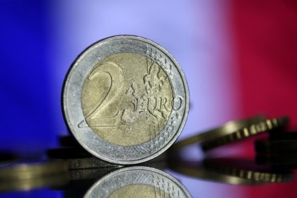 Euro zone inflation slows more than expected in Feb on cheaper food