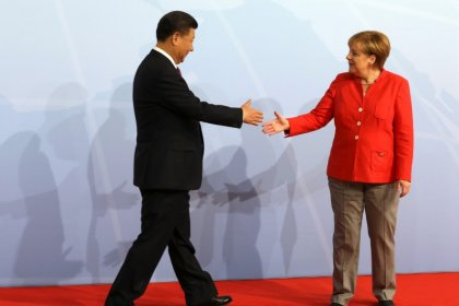 Merkel, Xi agree to work on steel overcapacity within G20