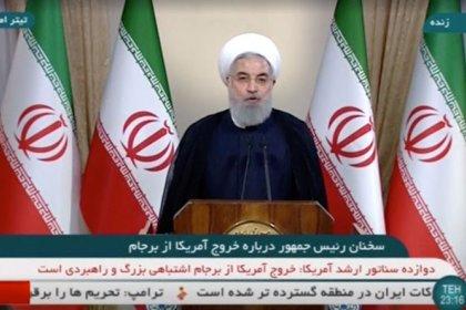"""Iran, Rouhani chiede a Ue di opporsi ad azioni Usa """"illegali e illogiche"""""""
