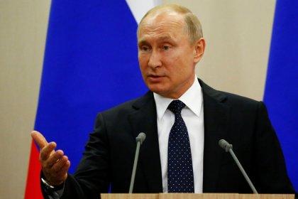 Putin sagt Wirtschaft Prüfung von Blockadegesetz gegen Sanktionen zu