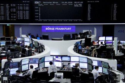 أسهم أوروبا تصعد مع انحسار المخاوف من حرب تجارية لكن الأسهم الايطالية تهبط