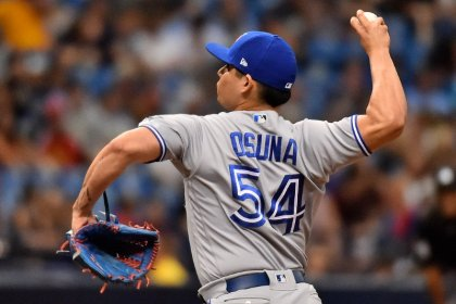 MLB extends Blue Jays closer Osuna's leave seven more days