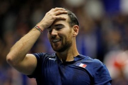 Tennis: Mannarino slumps to early exit in Lyon