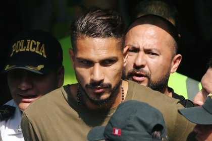 Soccer: Rivals ask for Guerrero World Cup ban to be lifted