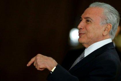 Temer diz que acordo sobre planos econômicosvai injetar até R$12 bi na economia do país