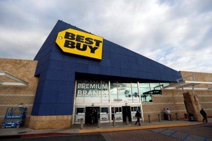 Сопоставимые продажи Best Buy выросли в I кв, акции подорожали