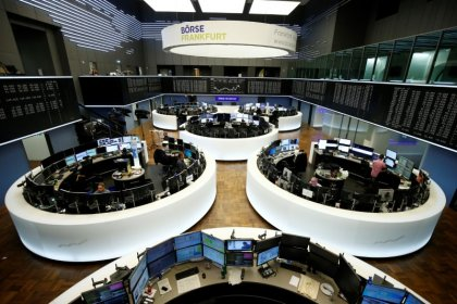 European shares set for first weekly fall since March
