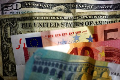 Euro set for sixth week of losses as European yields rise