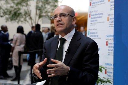 شيمشك: المركزي التركي تأخر في رفع سعر الفائدة
