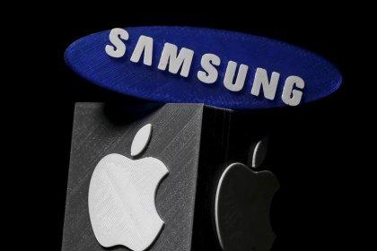 Júri norte-americano concede pagamento de US$539 mi à Apple por violação de patentes pela Samsung