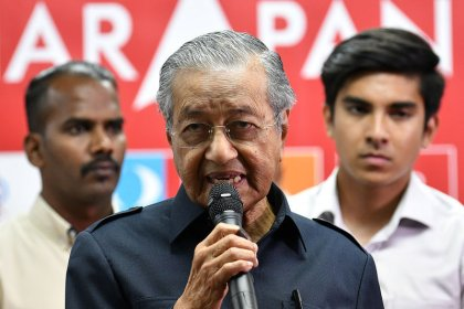 Malaysia renegotiating terms of major Belt-and-Road rail project: PM Mahathir