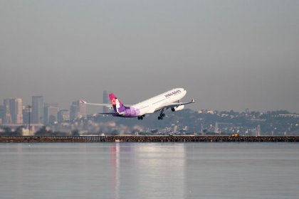U.S. airline Hawaiian to suspend its Beijing flight from October