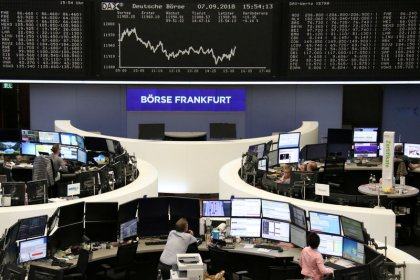 European stocks shrug off trade rhetoric; Galapagos soars