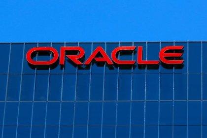 Oracle first-quarter revenue misses estimates, shares fall