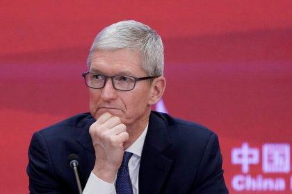 Apple CEO says optimistic on U.S.-China trade talks