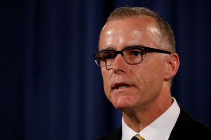 Fired FBI official McCabe writes book on Trump, terrorism: publisher
