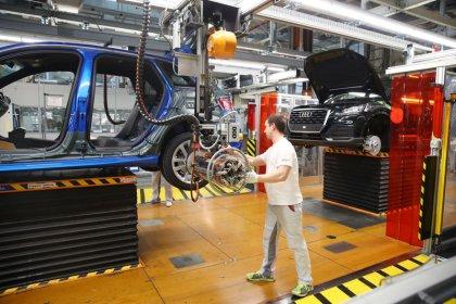 Auftragspolster der deutschen Industrie wird dicker