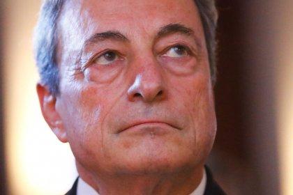 """Mario Draghi apuesta por un fondo anticrisis """"considerable"""" para la zona euro"""