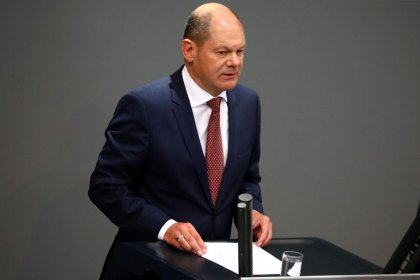 Euro zone should take next steps to complete banking union: Germany's Scholz