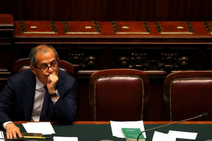 Italy coalition urges economy minister to be looser on deficit