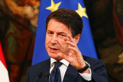 """Italy's Conte says not getting """"hung up"""" over decimal places in budget"""