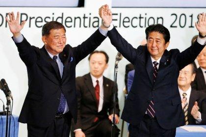 Japans Ministerpräsident gewinnt Abstimmung über Parteivorsitz