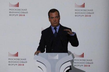 Медведев: умеренно-жесткая политика ЦБР позволит удержать инфляцию на низком уровне