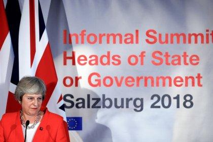 Britische Presse sieht im Salzburger EU-Gipfel Demütigung für May