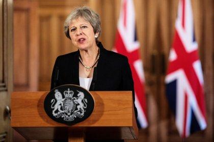 May gibt sich in Brexit-Gesprächen mit EU unnachgiebig