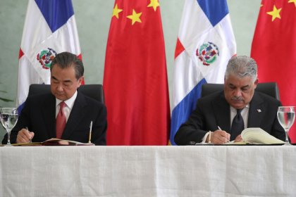China opens embassy in Dominican Republic after break with Taiwan
