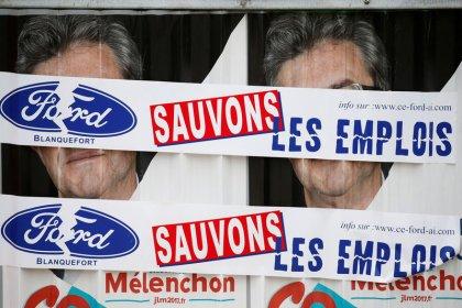 Près de 500 manifestants pour les emplois de Ford Blanquefort