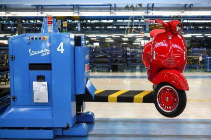 Produktion in Italien zieht überraschend kräftig an
