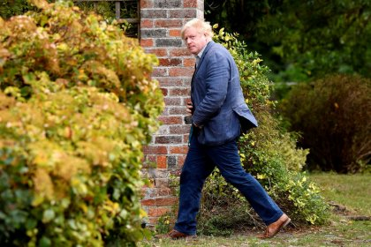 Stand up to EU bullies, UK's ex-foreign minister Johnson says