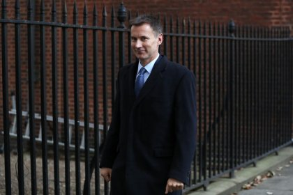 Agree Brexit deal for security, Hunt says to EU