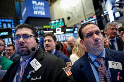 Tech stocks drag down Wall St. as earnings worries weigh