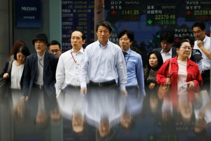 Asia stocks edge higher but Saudi tensions limit advance