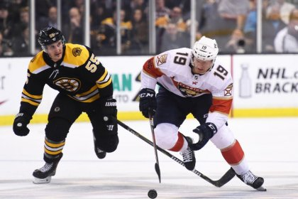 NHL suspends Panthers' Matheson for body slam