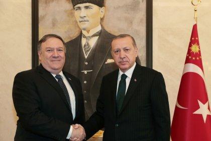 Pompeo meets Erdogan after talks with Saudis on missing journalist